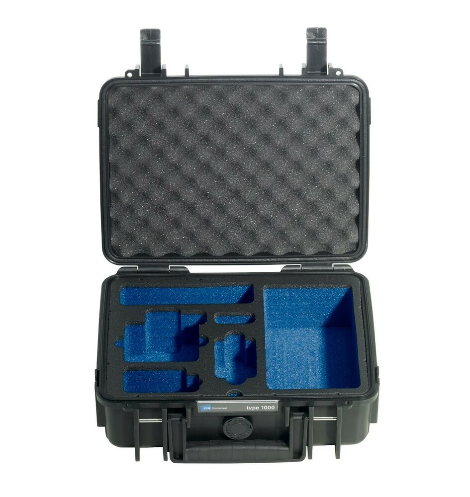 b w outdoor hard case type 1000 for gopro accessories ebay. Black Bedroom Furniture Sets. Home Design Ideas