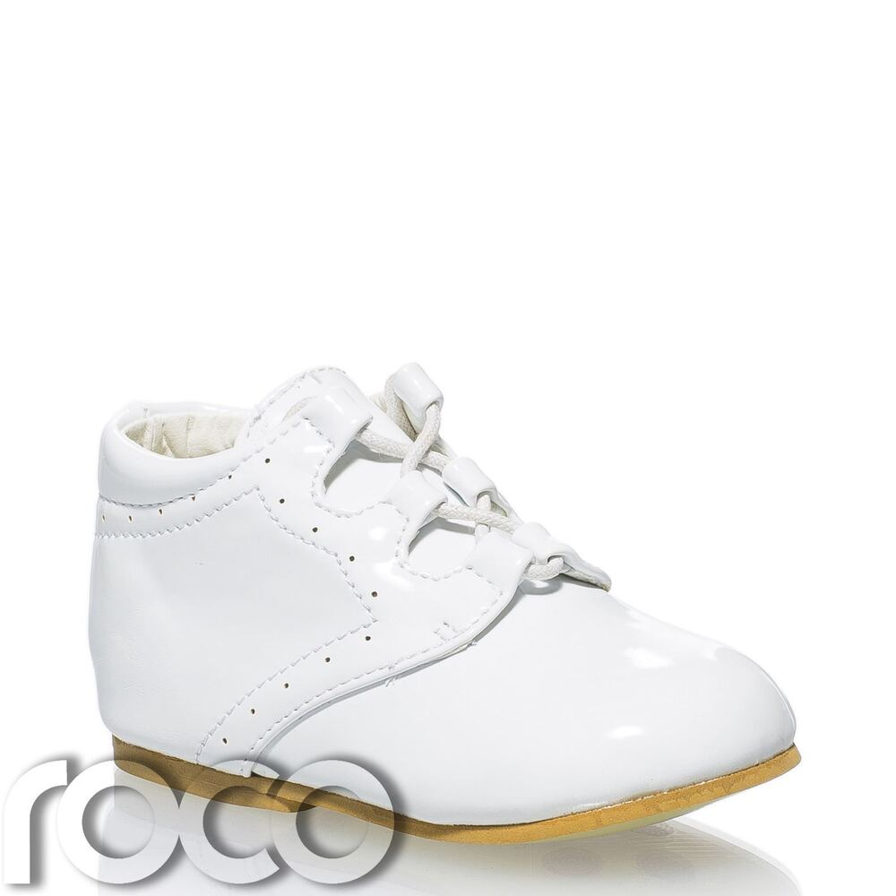 Baby Boys White Shoes Infant Shoes Boys Smart Shoes