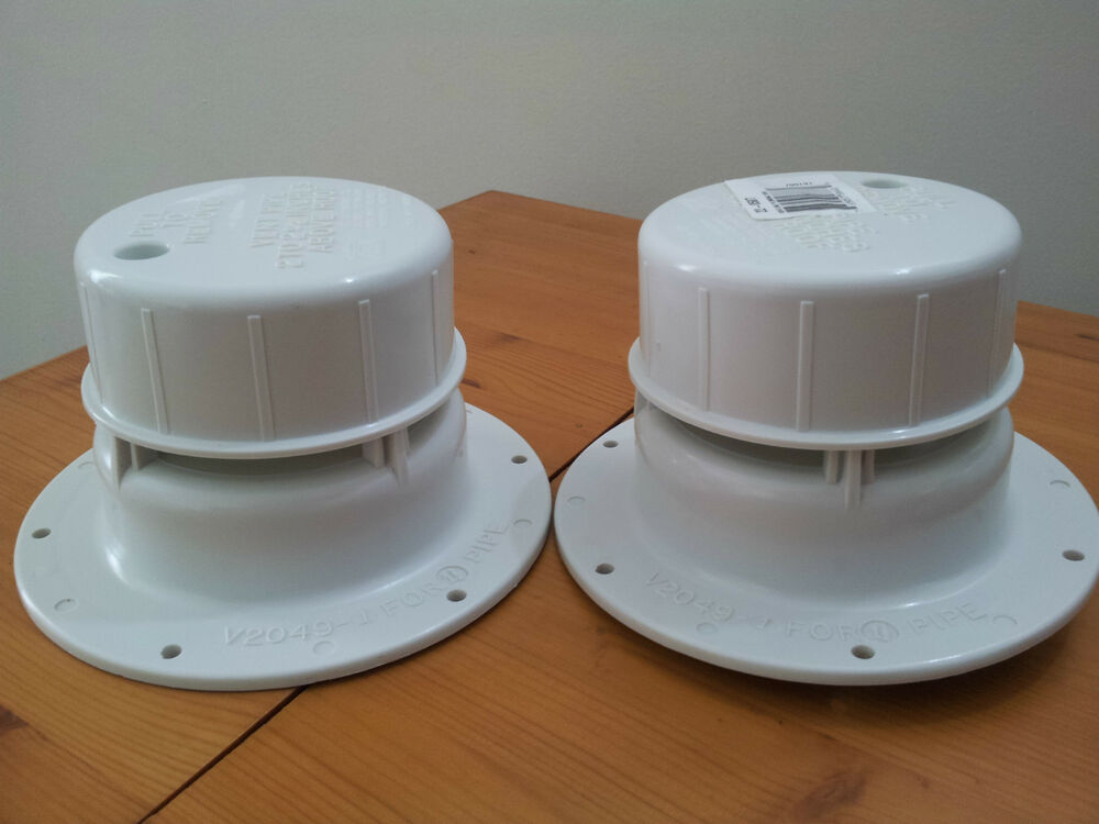 2 Vent Caps For Rv Trailer Or Motorhome Replacement