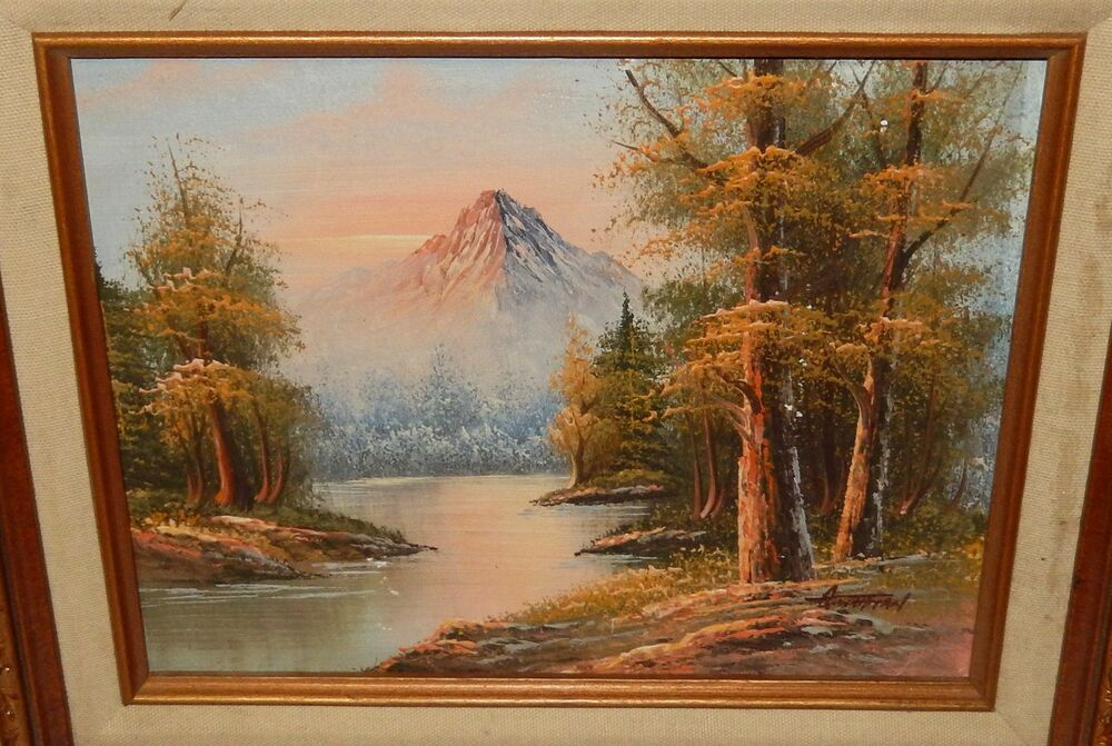George Whitman Oil Painting