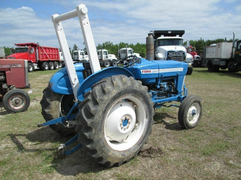 Ford 4000 Tractor Parts : Ford tractor operator op owner manual