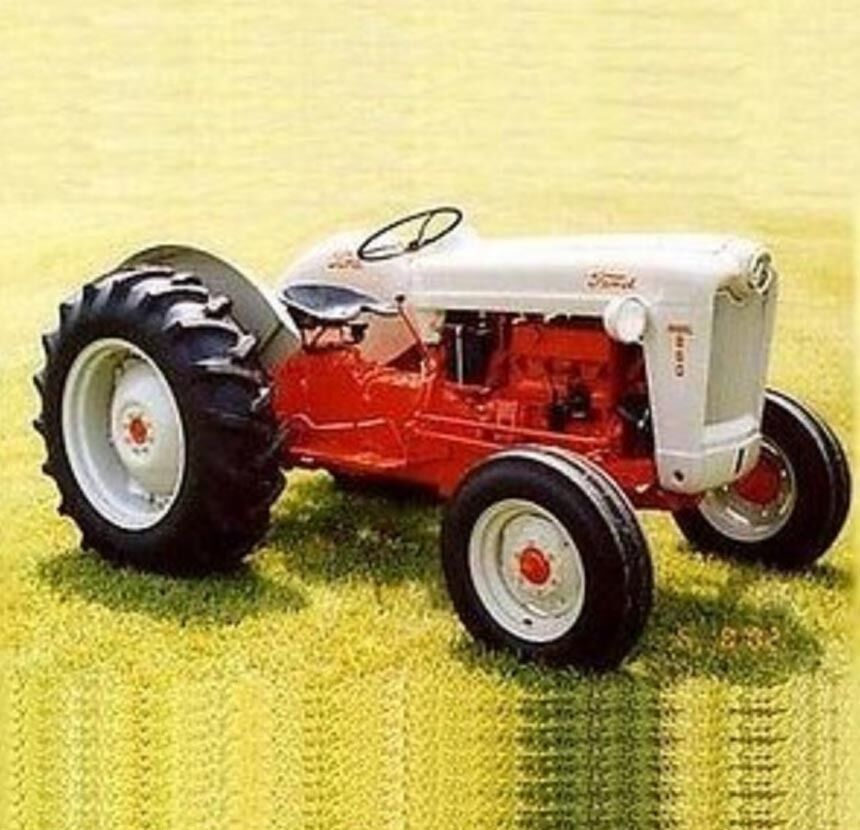 600 Ford Tractor Model : Ford tractor  shop