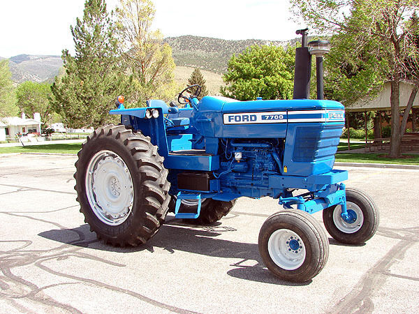 7600 Ford Tractor Parts List : Ford tractor shop service manual