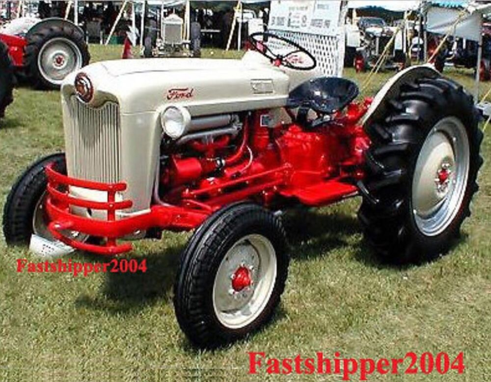 1960 Ford Tractor 601 : Ford  shop service