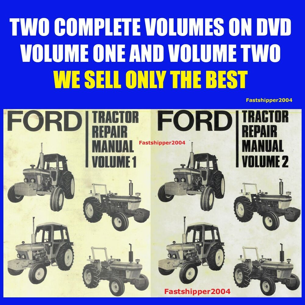 Ford Service Manuals: Ford 2610 3610 4110 4610 5610 6610 6710 7610 7710 Tractor