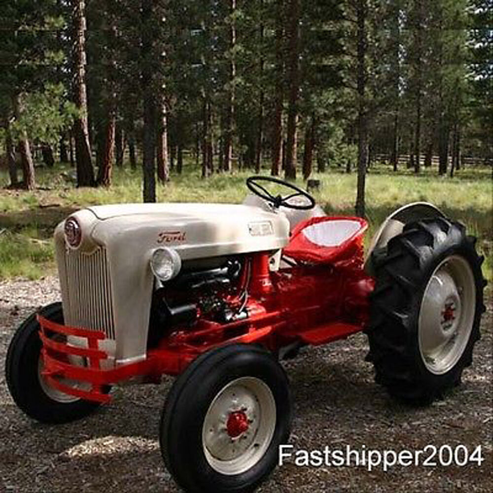 Tractor Restoration Parts : Jubilee naa ford tractors shop service repair manual