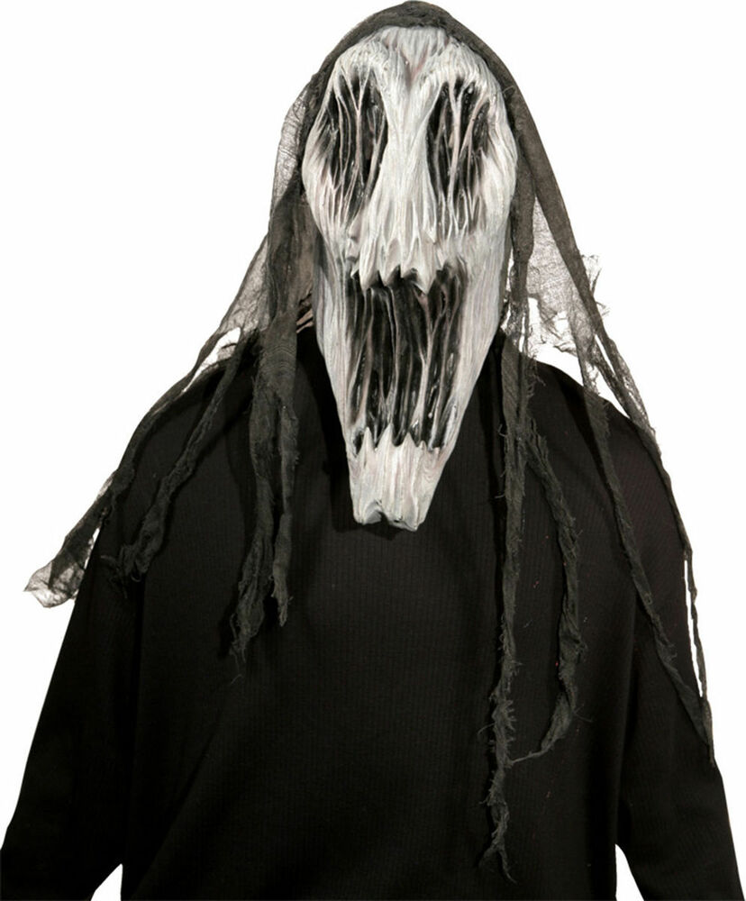 Gaping Wraith Dementor Harry Potter Scary Ghost Mask Halloween ...