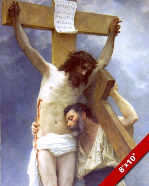 COMPASSION SUFFERING WITH JESUS CHRIST PAINTING CHRISTIAN ...