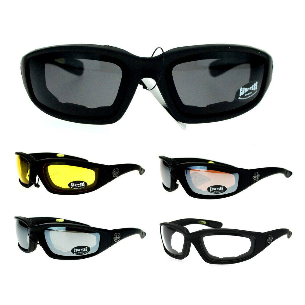 7a21b654fe9 Padded Motorcycle Sunglasses For Men