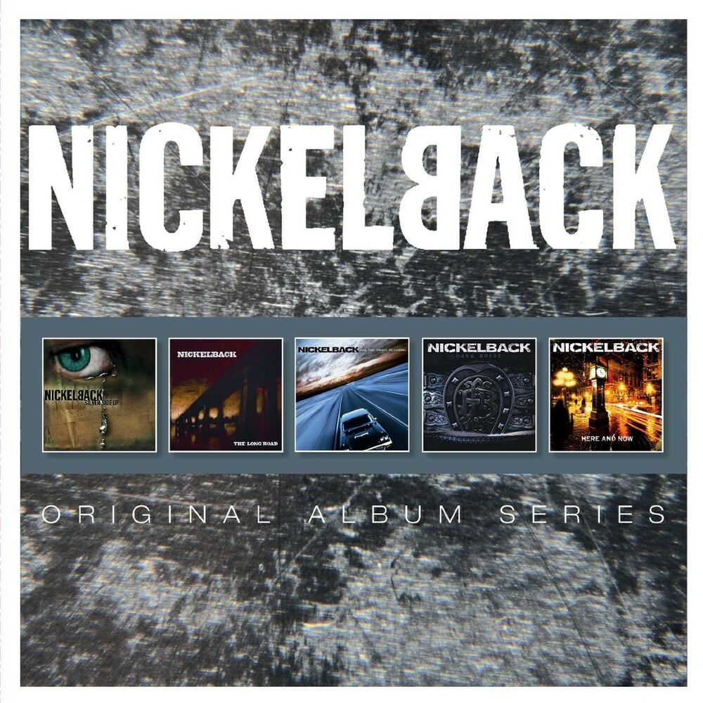 nickelback original album series 5 cd new 16861753924 ebay. Black Bedroom Furniture Sets. Home Design Ideas