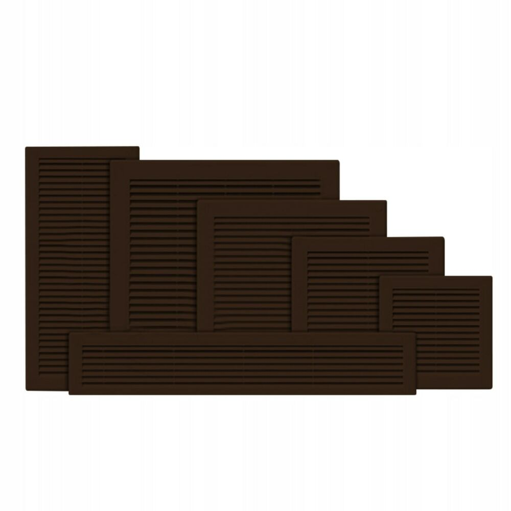 Brown Air Vent Grille Wall Ducting Ventilation Cover