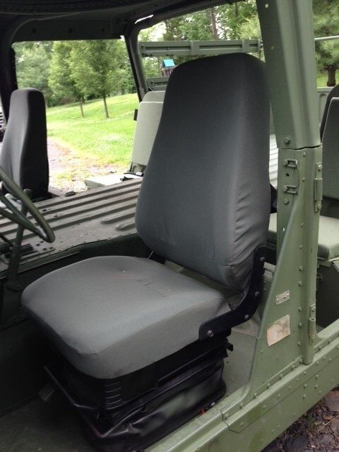 Military Green Truck Front Seat Upgrade Kit for M998 w ...