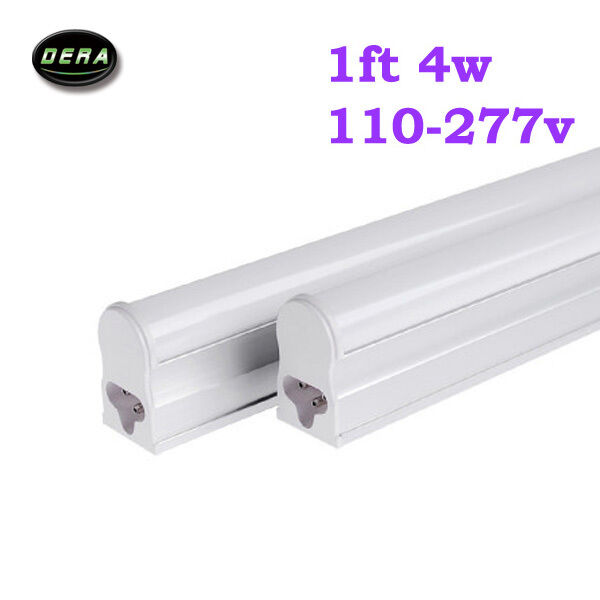 4x 1FT 4W T5 Led fluorescent Replacement Tube Light Bulb ...