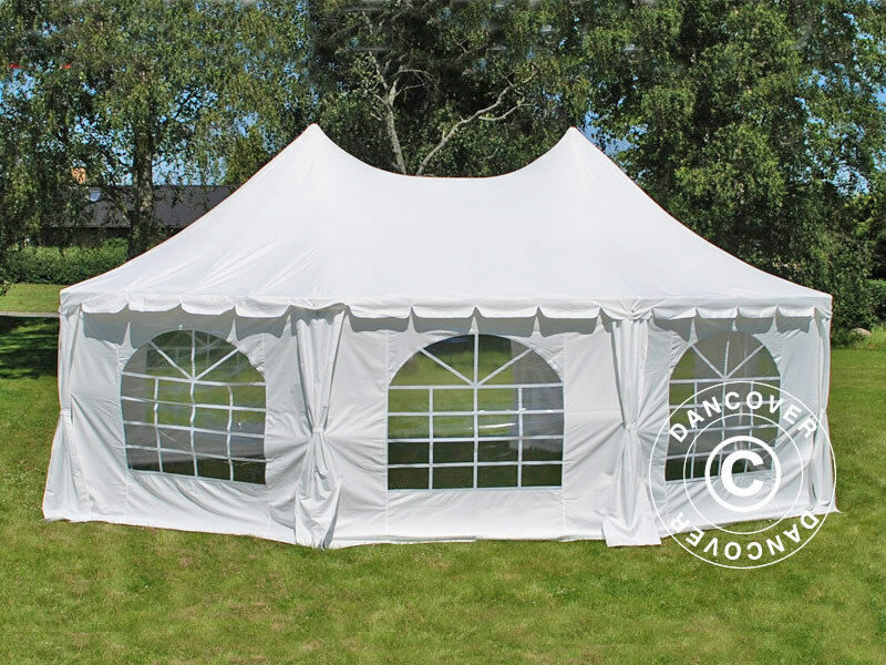 partyzelt 6 8x5 m pavillon pagoden festzelt gartenzelt zelt bierzelt pagodenzelt ebay. Black Bedroom Furniture Sets. Home Design Ideas