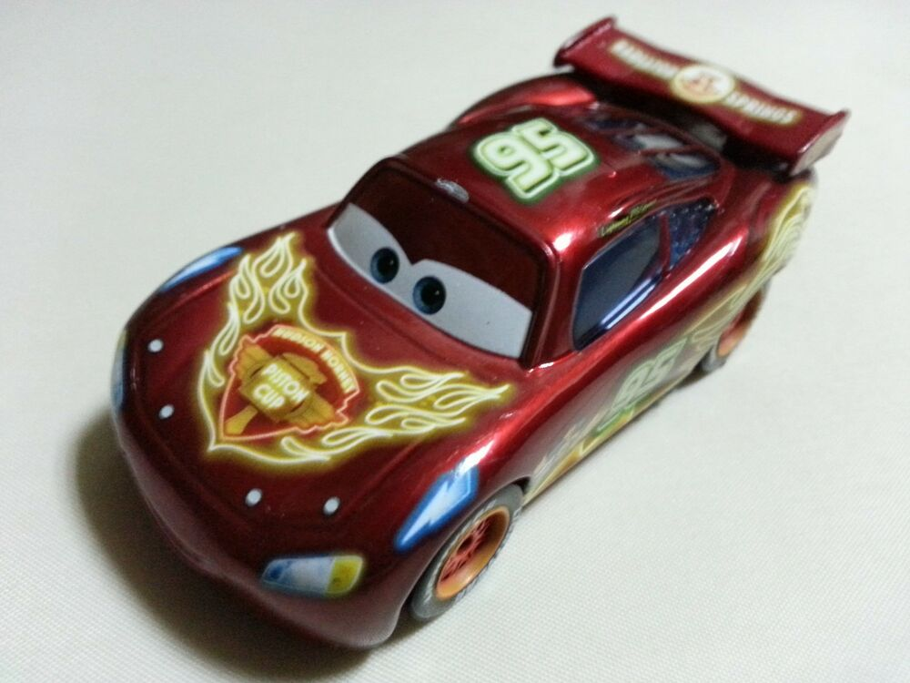 Cars 1 Toys : Mattel disney pixar cars neon racers lightning mcqueen toy