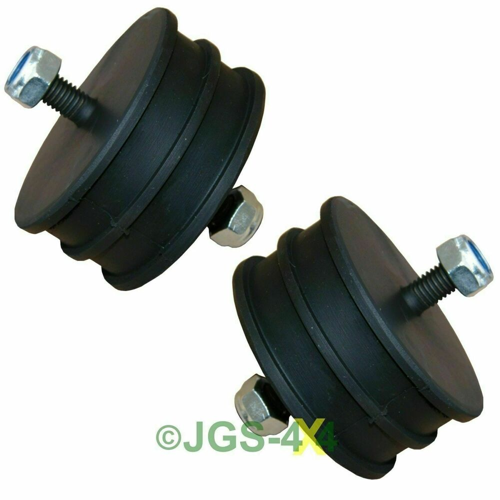 Land Rover Defender Engine Mount Mounting Rubber X2