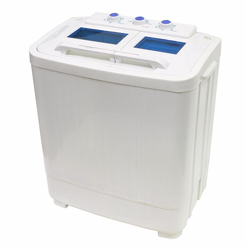 8 9lb portable mini small rv dorms compact washing machines spin dryer laundry ebay - Small space washing machines set ...