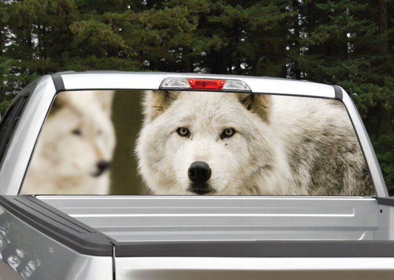 Wolf Wolves Rear Window Decal Graphic For Truck Suv Van Ebay