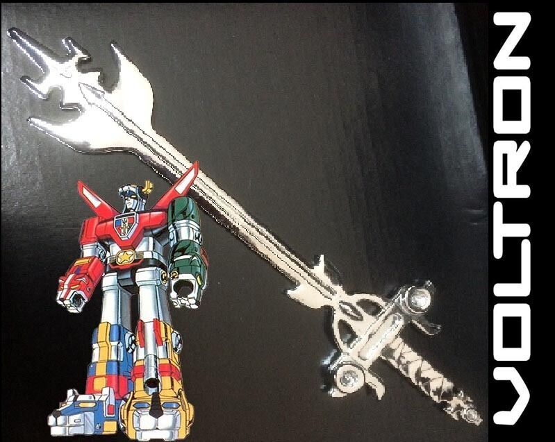 Voltron Golion Defenders of the Universe Blazing Sword 10 ...