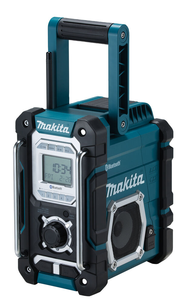 makita akku baustellenradio dmr108 7 2 18 v neu bluetooth usb aux rds pty dmr106 ebay. Black Bedroom Furniture Sets. Home Design Ideas