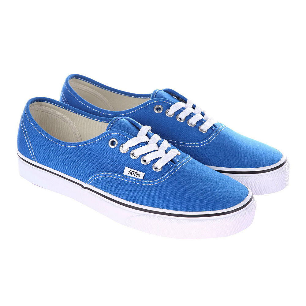 Vans Blue And White Vans Authentic Skydive...