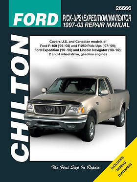 chilton repair manual ford 1997 03 pickup 97 14. Black Bedroom Furniture Sets. Home Design Ideas