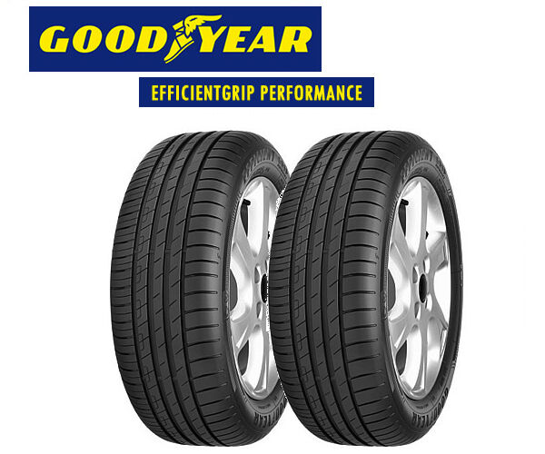 2x goodyear efficientgrip performance 205 55 r16 91v all sizes available ebay. Black Bedroom Furniture Sets. Home Design Ideas