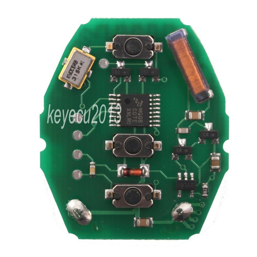 Keyless Entry Ews Remote Control Circuit Board For Bmw E46