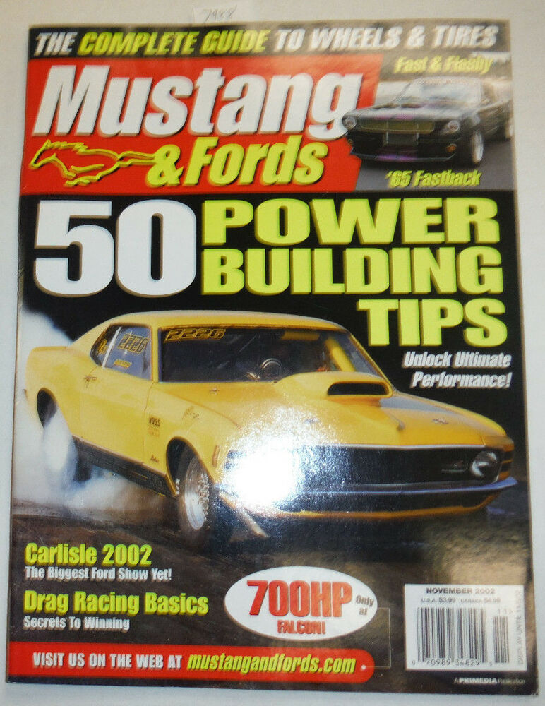 mustangs fords magazine 50 power building tips november 2002
