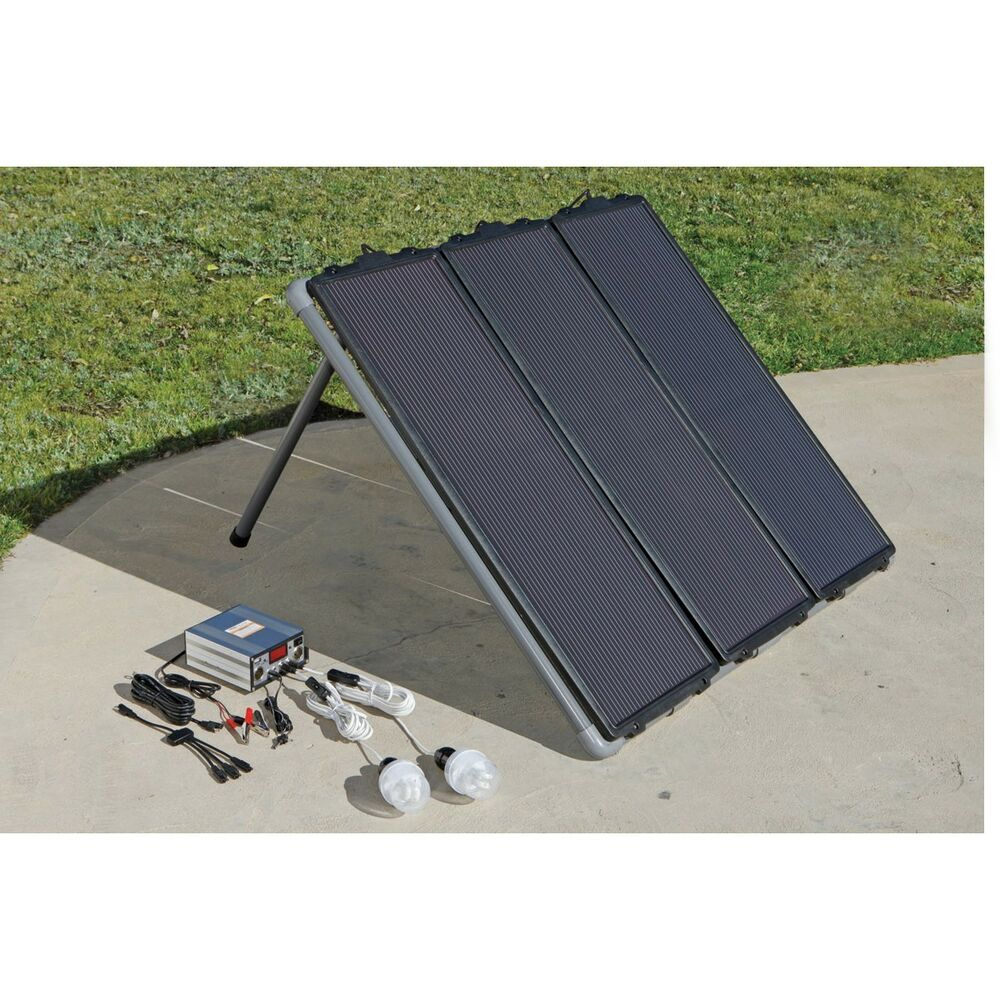 New 45 Watt Clean Energy Power Solar Panel Kit Ebay