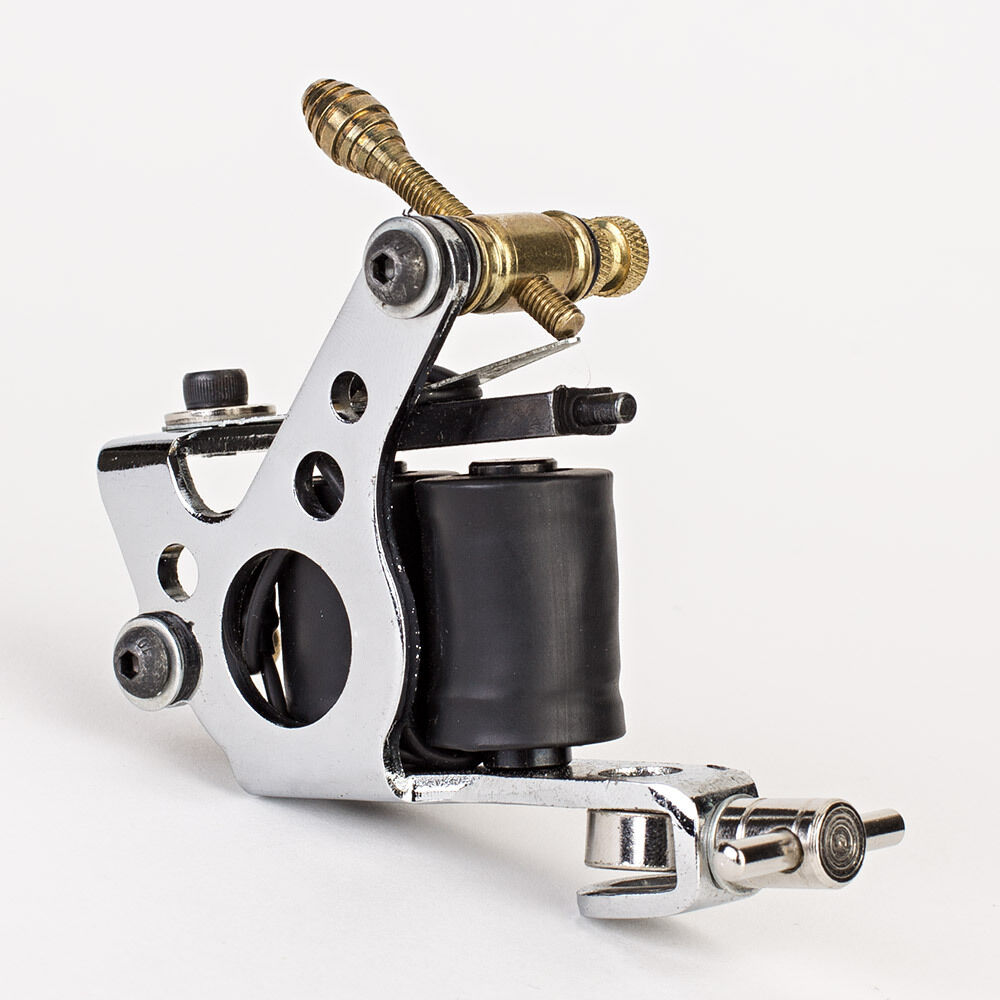 New tattoo machine gun liner shader 10 wrap coils supply for How to set up a tattoo machine