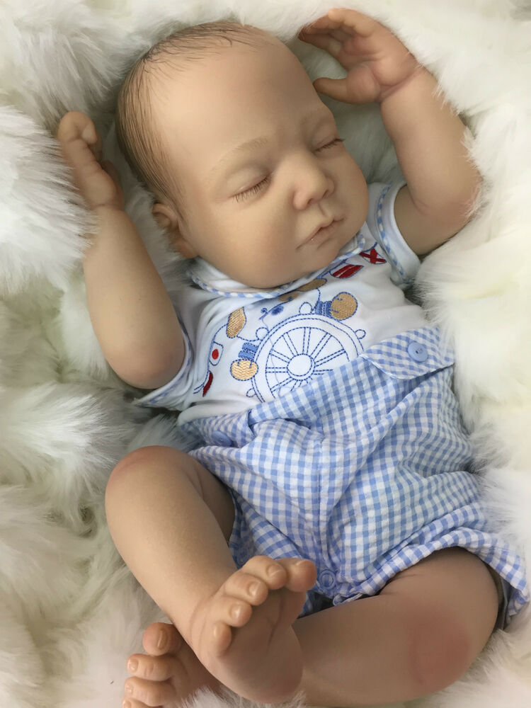 Cherish Dolls New Charlie Reborn Baby Fake Babies