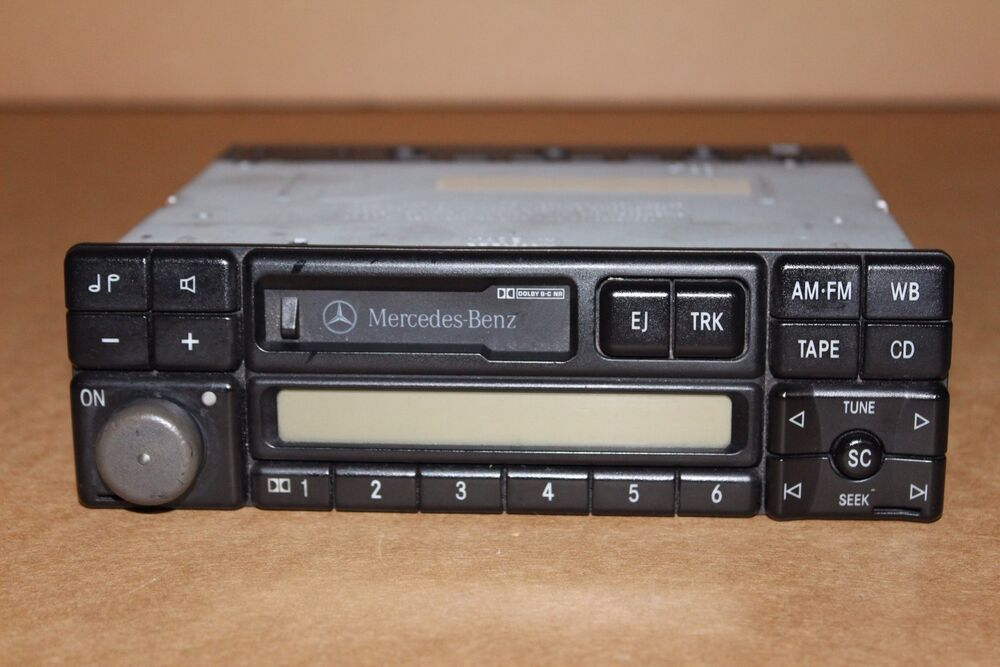 1996 1999 mercedes benz e320 becker radio stereo cassette for Mercedes benz stereo