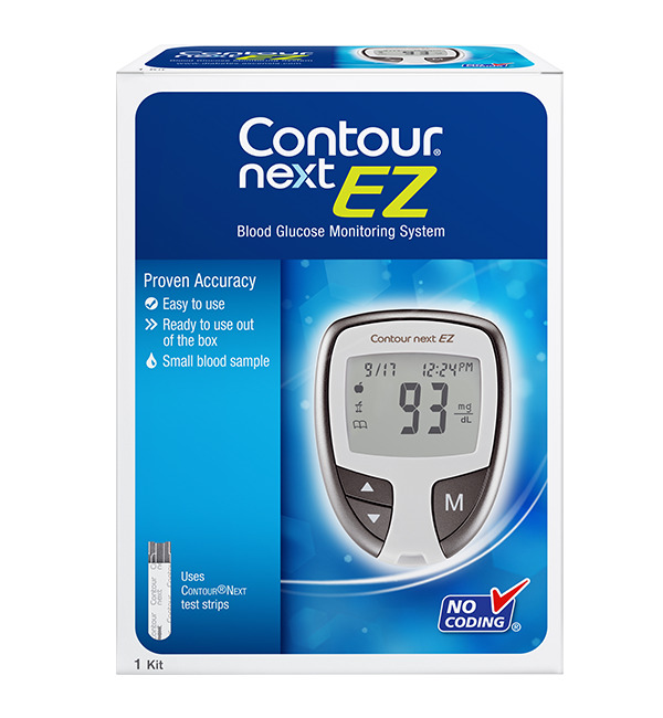 Contour Next Regular Blood Glucose Meter Including 10