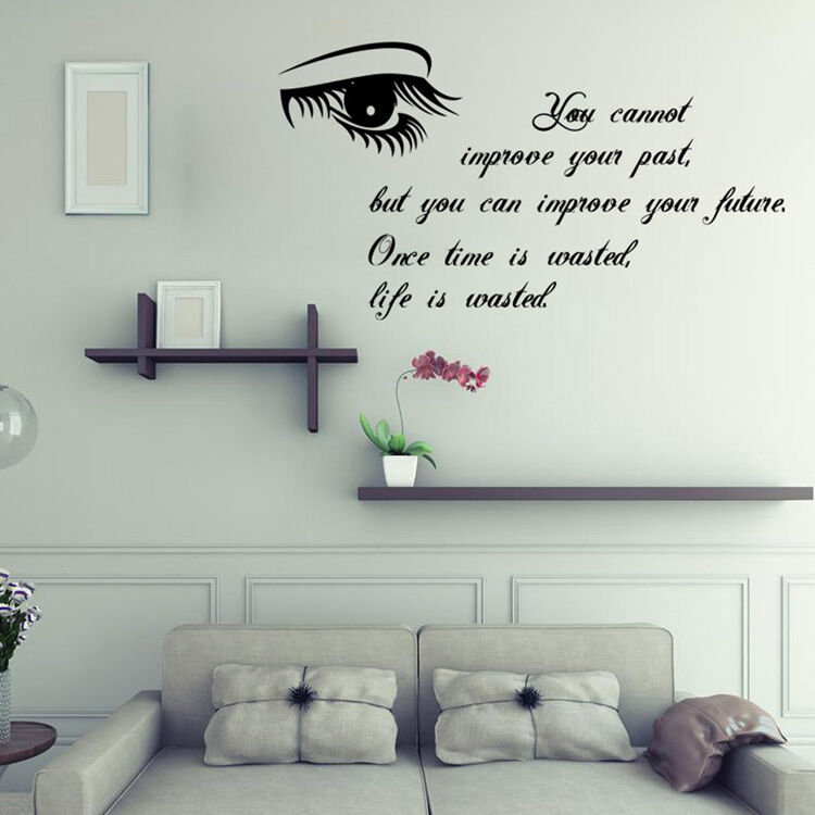 Room bedroom removable wall sticker decal home decor vinyl art ebay