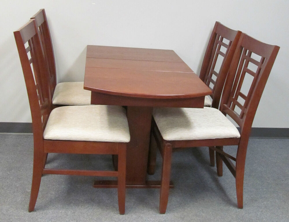 Rv dining table and chairs rv hide leaf dinette table for Dinette sets for sale