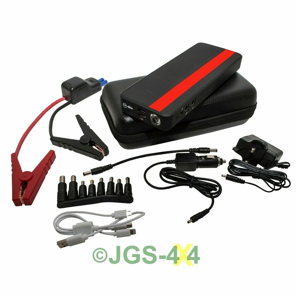 portable battery pack 12v car jump starter multi function booster xs power pack ebay. Black Bedroom Furniture Sets. Home Design Ideas