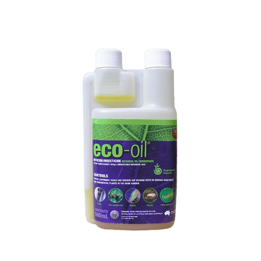 Eco Organic Garden Eco Oil 500ml Concentrate Insects Mites Aphids Scale Kill Ebay