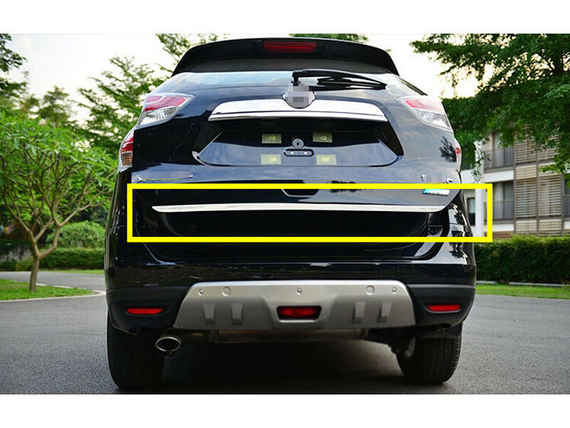 Rear Trunk Lid Tailgate Door Cover Trim 1pcs For Nissan