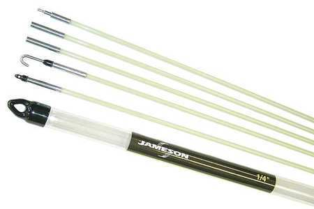 Jameson 7 36 23t glow rod 24 ft fiberglass ebay for Glow in the dark fishing pole
