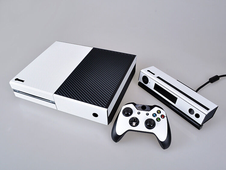 white carbon fiber cover skin sticker for xbox one. Black Bedroom Furniture Sets. Home Design Ideas