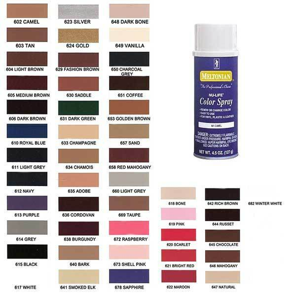Moneyworth Best Color Spray Leather Plastic Vinyl Paint Dye 4 5 Oz All Colors Ebay