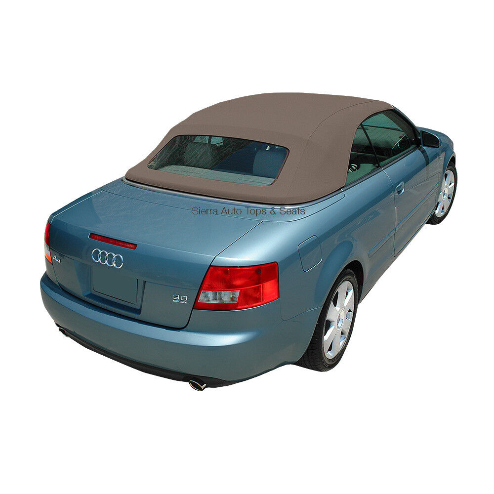 Audi A4 Convertible Top In Jive German A5 Cloth With Glass