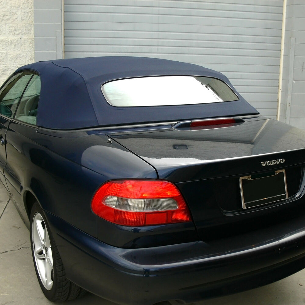 volvo c70 convertible top for 1999 2006 in blue stayfast. Black Bedroom Furniture Sets. Home Design Ideas
