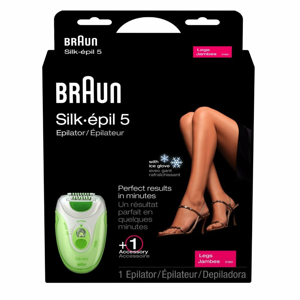 braun silk epil 5 xelle 5180 solo ladies legs epilator. Black Bedroom Furniture Sets. Home Design Ideas