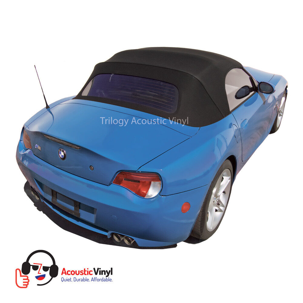 Fits 2003 2008 Bmw Z4 Convertible Top W Glass Window