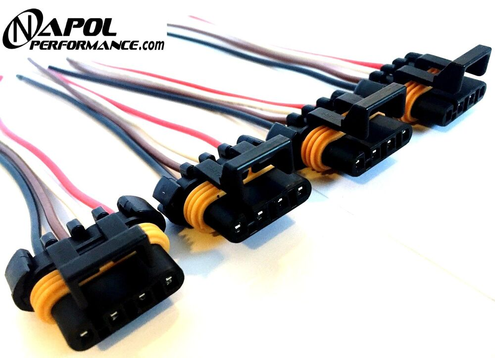 4 x ls1 ls6 ignition coil wiring harness pigtail connector ... ford focus coil pack wiring diagrams