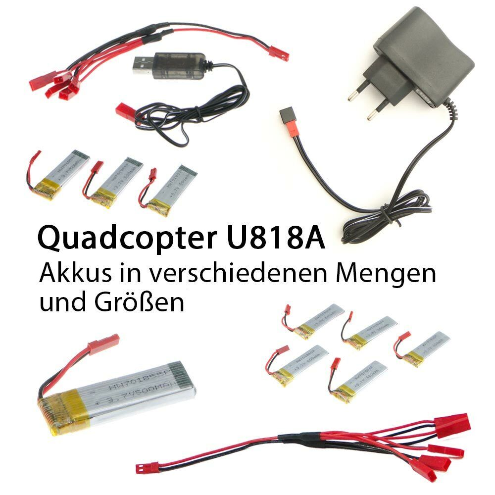 efaso quadcopter u818a akku batterie ladeger t usb ladekabel mehrfachladekabel ebay. Black Bedroom Furniture Sets. Home Design Ideas