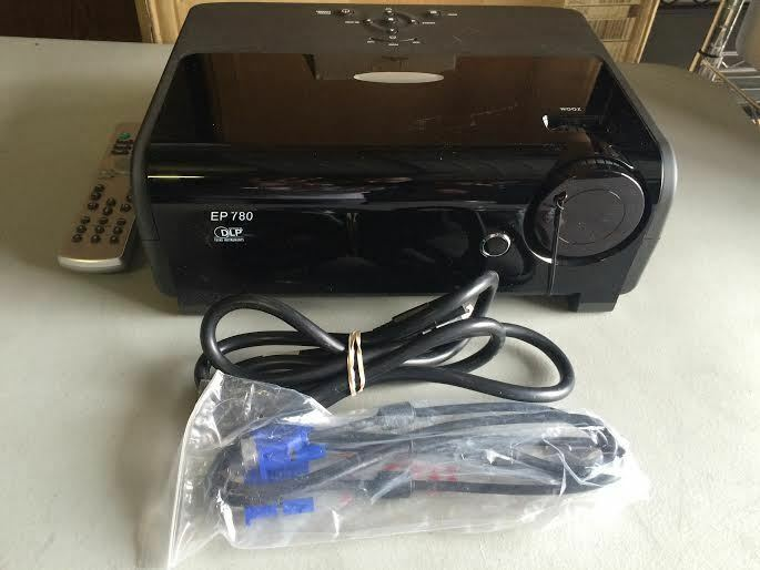 Optoma Ep780 Dlp Portable Hd Projector 4000 Lumens New