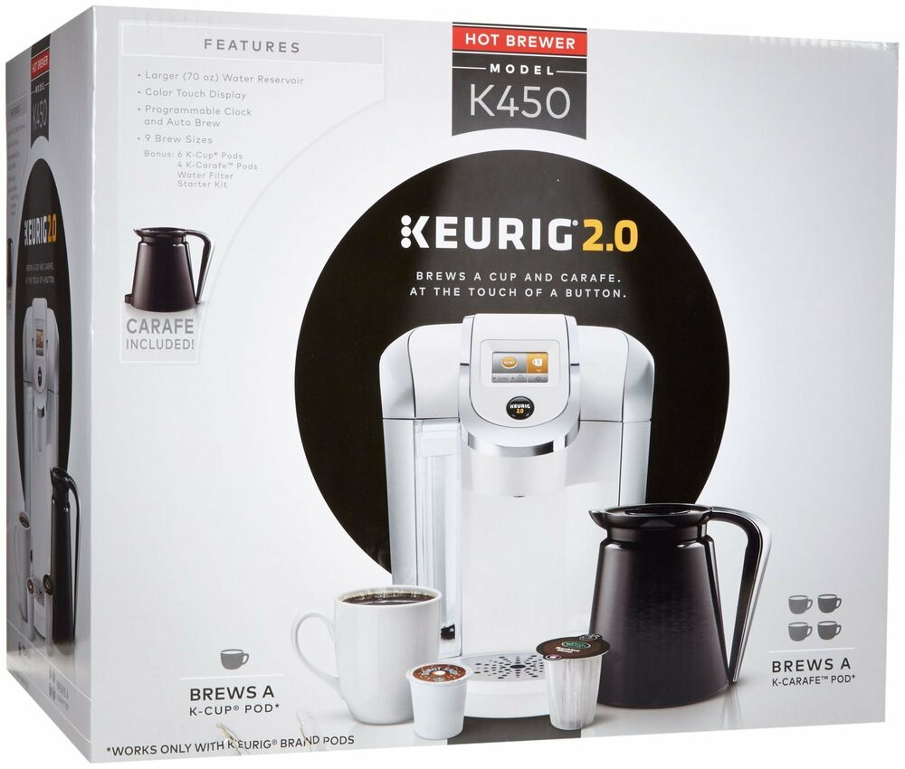 Keurig 2 0 K450 K Cup Machine K Carafe Coffee Maker Brewer ...